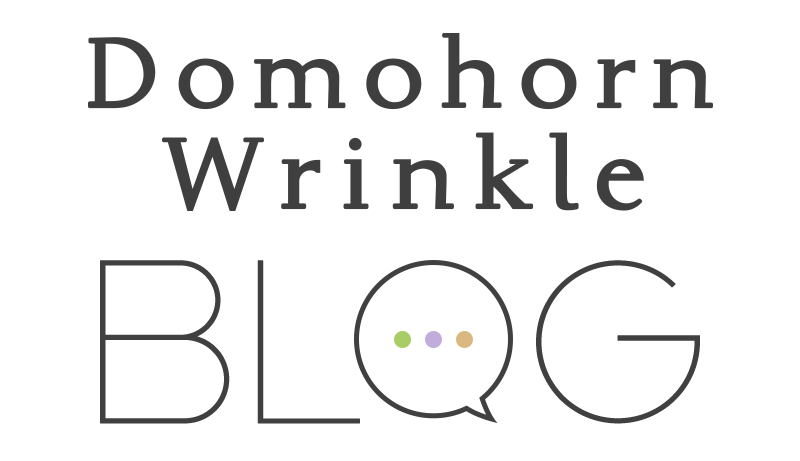Domohorn Wrinkle BLOG